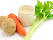 サラダデリマルゴの週替りスープ「じゃがいものポタージュ」