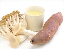サラダデリマルゴの週替りスープ「茸とさつま芋のポタージュ」
