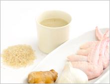 サラダデリマルゴの週替りスープ「参鶏湯(サムゲタン)」