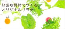 好きな具材でつくる マルゴのオリジナルサラダ Original Salad